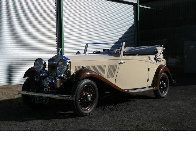 1934 Rolls-Royce 20/25hp Three-Position Owen Sedanca Coupé   Chassis no. CXB 13 Engine no. J3H