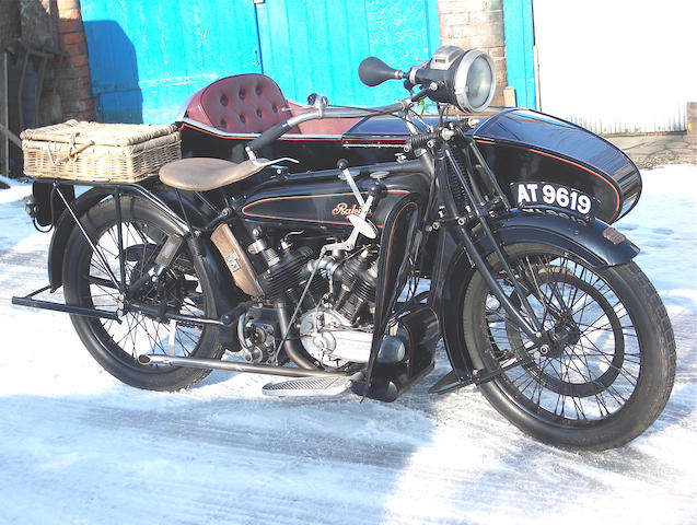 1924 Raleigh Model 13 Combination,