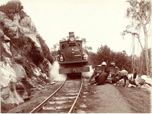 UGANDA Album depicting the construction of the Uganda Railway