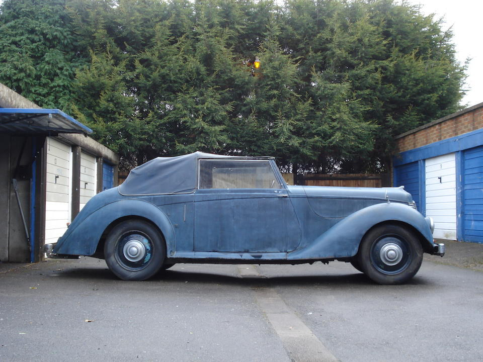 1946 Armstrong Siddeley 18hp Hurricane Drophead Coupé  Chassis no. 161020 Engine no. 161023