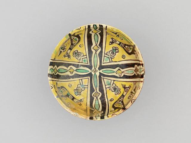 A Nishapur buffware pottery Bowl Persia, 9th/ 10th Century