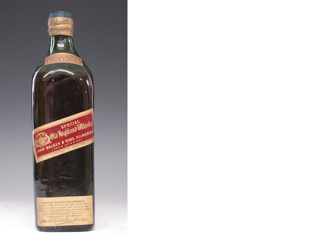 Johnnie Walker Red Label-Early 20th Century