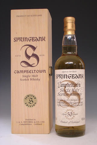 Springbank-50 year old