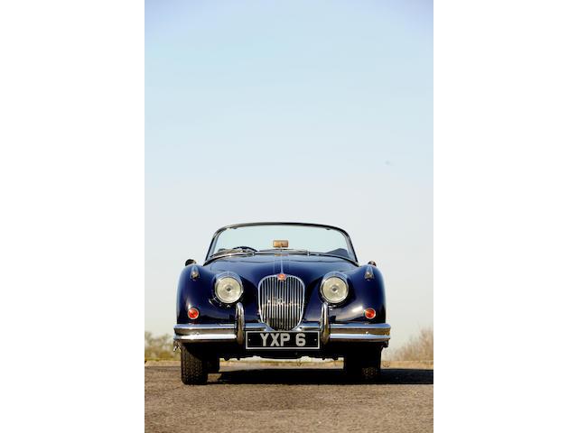 1960 Jaguar XK150 SE 3.4/3.8-Litre Drophead Coupé  Chassis no. CS827511BW Engine no. NC-9058-8