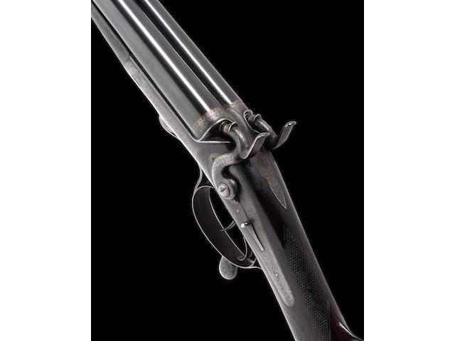 A fine and rare .450 (2¾in. Black Powder Express) hammer rifle by Sir J. Whitworth & Co. Ltd., No. 710