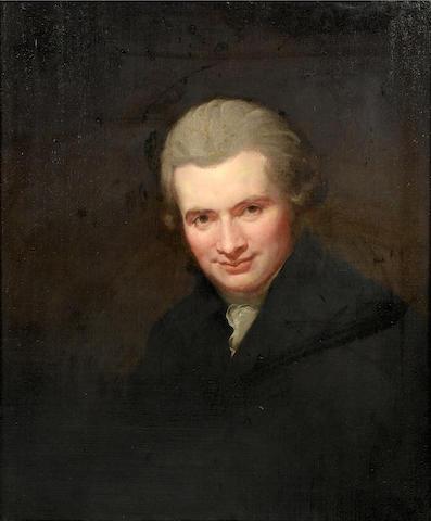 Attr. Romney, Self-portrait of the artist