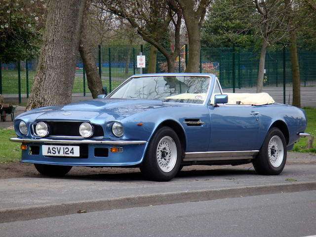 1980  Aston Martin  V8 Volante Convertible  Chassis no. V8COR/15142 Engine no. V/540/5142/S