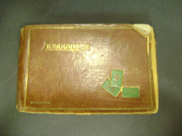 1930's Autograph book - mainly cricket including Arsenal F.C.