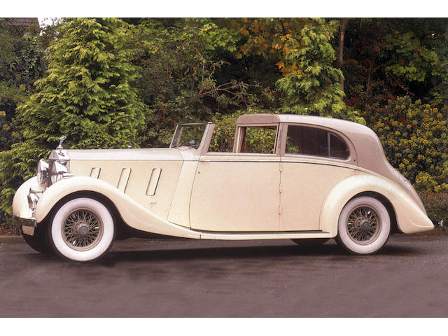 1936 Rolls-Royce Phantom III Sedanca de Ville  Chassis no. 3AZ24 Engine no. A64A