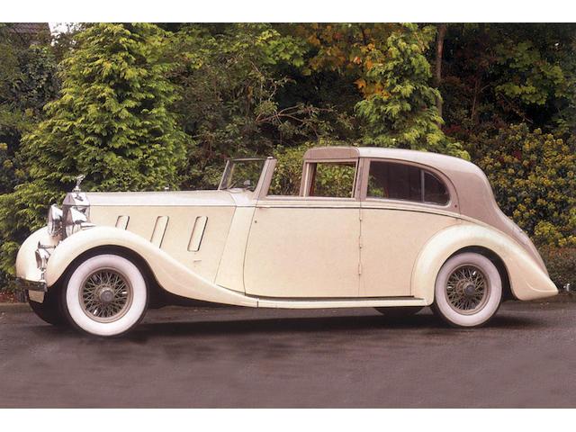 1936 Rolls-Royce Phantom III Sedanca de Ville  Chassis no. 3AZ24 Engine no. A64A