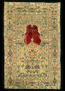 An Ottoman applique textile Panel, Turkey 19th Century