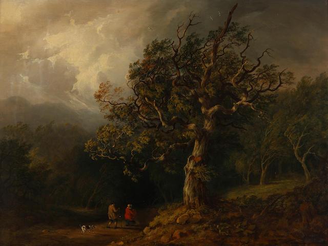 Jane Nasmyth (British, 1778-1867) Through the wood