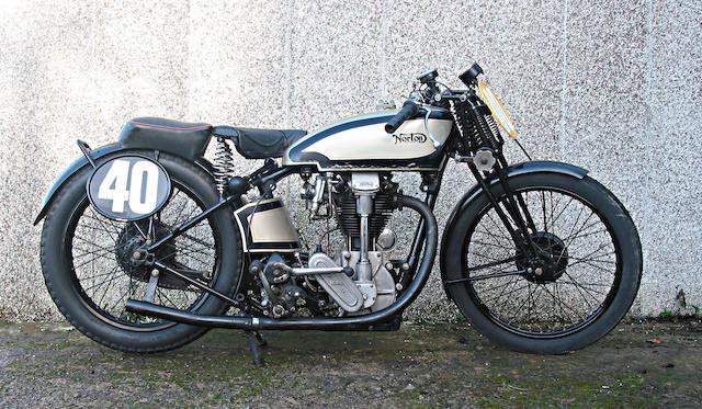 1933 Norton 500cc Model 30 International Frame no. 49305 Engine no. 54858