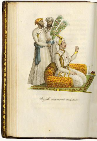PANNELIER (JEAN AMBALE)] L'Hindoustan, ou religion, moeurs, usages, arts et métiers des Hindous, 6 v