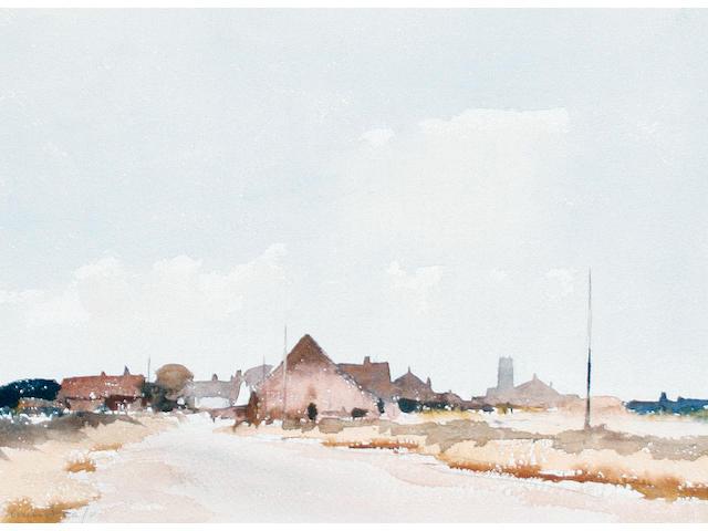 Edward Seago, R.W.S. (British, 1910-1974) Sea Palling