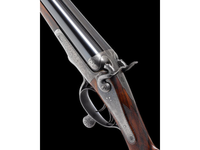 A fine and unusual Charles Gordon 12-bore (3in) hammer gun by J. Purdey & Sons, no. 16410