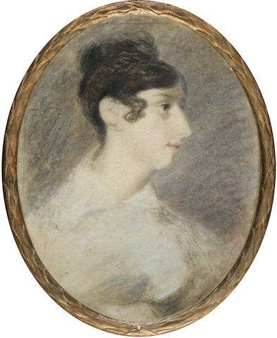 John Constable, R.A. (East Bergholt 1776-1837 London) Portrait of Miss Ann Hobson
