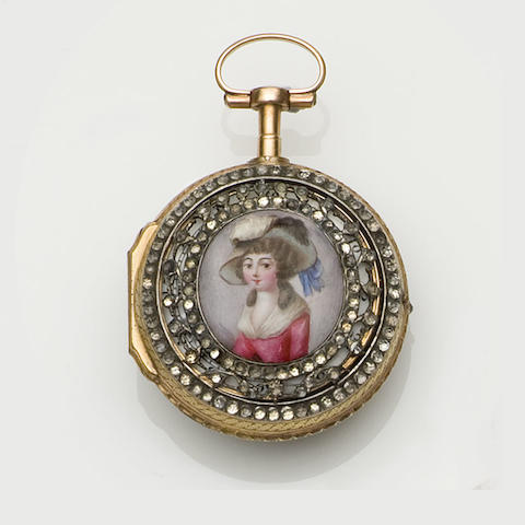 Jean Piot & Compagnie, Geneve: An early 19th century pair cased pocket watch