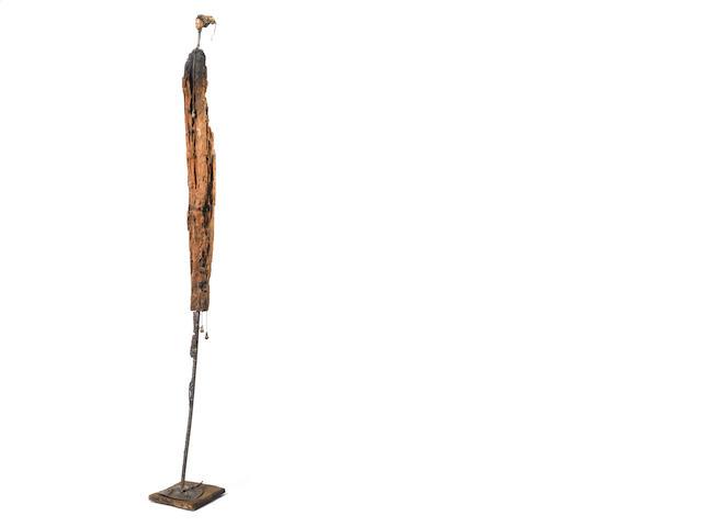 Gerard  Quenum Barbie in Africa 169 x 22 x 19 cm (66 9/16 x 8 11/16 x 7 1/2in)
