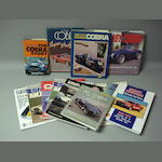 A selection of American muscle car literature,