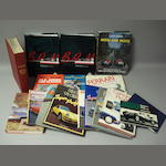 A quantity of interesting motor racing literature,