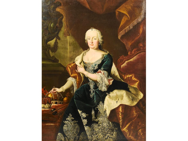 Marten van Mytens II (Stockholm 1695-1770 Vienna), and studio Portrait of the Emperor Francis I, thr