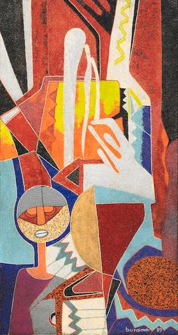 Jimoh Buraimoh (Nigerian, born 1943) Figure