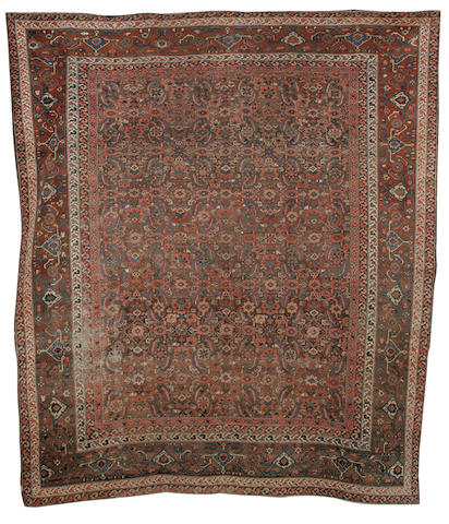 A Bakshaish carpet North West Persia, 11 ft 3 in x 9 ft 9 in (343 x 298 cm) some minor wear