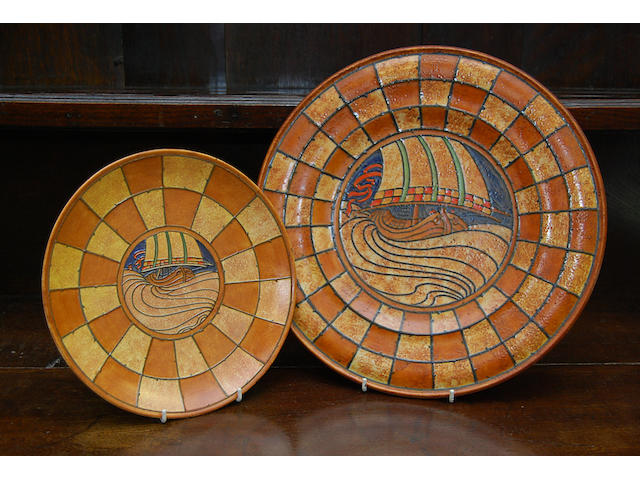 A Charlotte Rhead charger