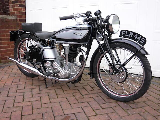 The Earls Court Show,1938 Norton International 490cc Model 30 Frame no. 98381 Engine no. 90282