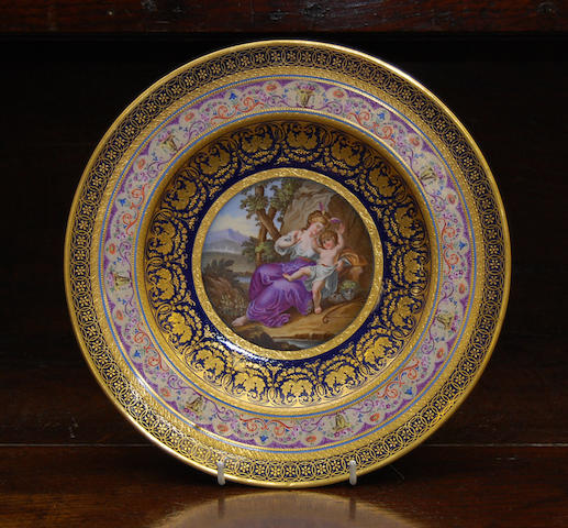 A Berlin cabinet plate