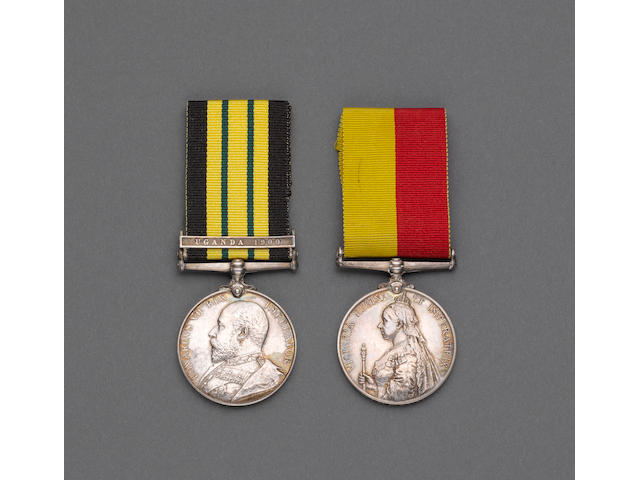 Pair to Captain T.M.Langton, 21st Lancers,