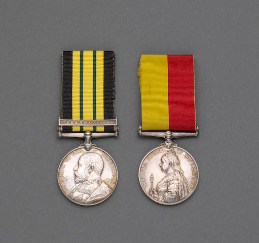 Pair to Captain T.M.Langton, 21st Lancers,