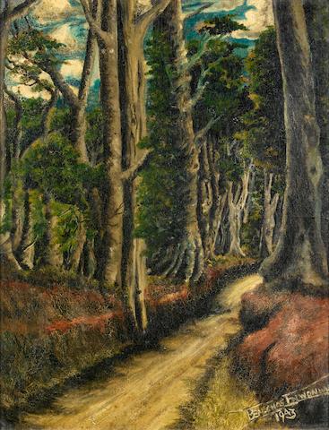 Benedict Chukwukadibia Enwonwu, M.B.E (Nigerian, 1917-1994) The path through the forest