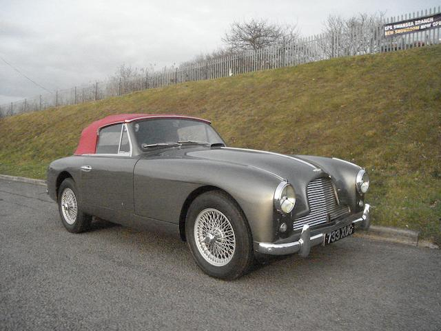 1955 Aston Martin DB 2/4 Drophead Coupe,