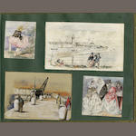 "ALBUMS Album entitled ""Miscellaneous Sketches by William Payne, vol. 1"""