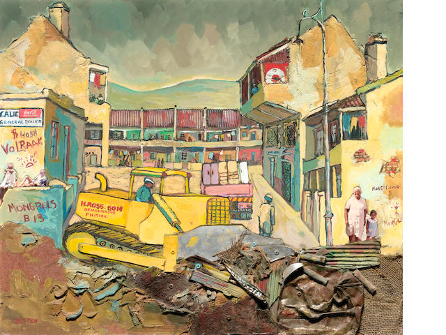 Willie Bester (South African, born 1956) The clearance of William Street, District Six