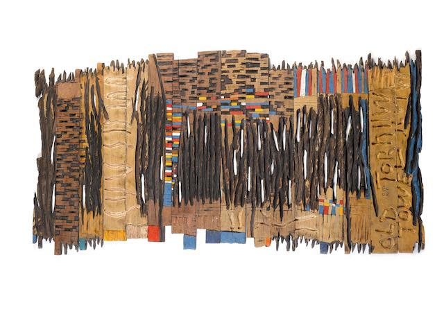 El Anatsui (Ghanaian, born 1944) Torn Towel