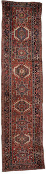 A Karaja runner North West Persia, 13 ft 3 in x 3 ft 4 in (404 x 100 cm)