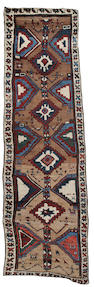 A Luri runner West Persia, 10 ft 6 in x 3 ft 3 in (320 x 99 cm)