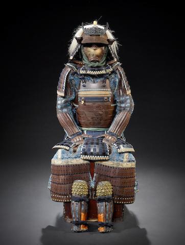 An Okegawa yokohagi dotosei gusoku By Nagasone Okisato, Edo Period, 17th century