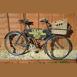 A Tradesman's Carrier bicycle, by Chase Cycles, Birmingham, c1937,