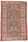 A Lesghi rug East Caucasus, 5 ft 10 in x 3 ft 8 in (177 x 115 cm)  minor wear,some minor damage