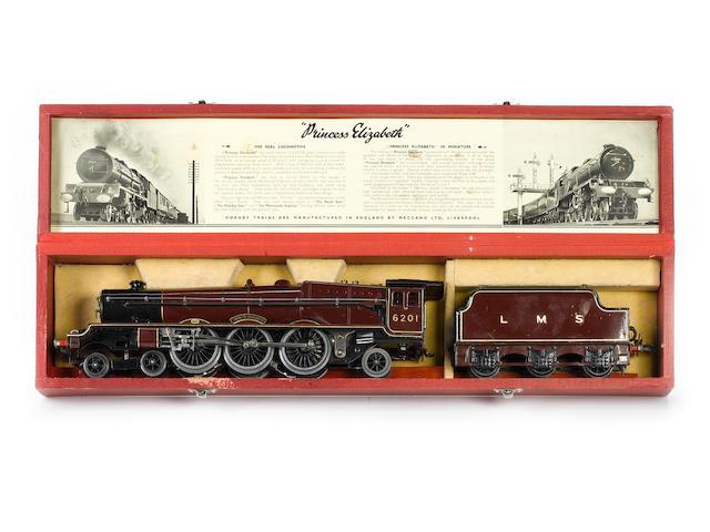 Hornby Series electric 4-6-2 Princess Elizabeth locomotive No.6201 and 6-wheel tender