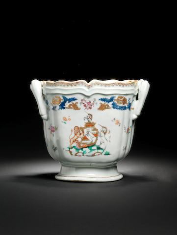 An armorial wine cooler for the Austrian market Circa 1765