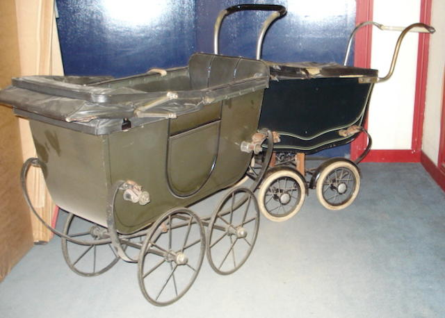 Two Dolls Prams 3