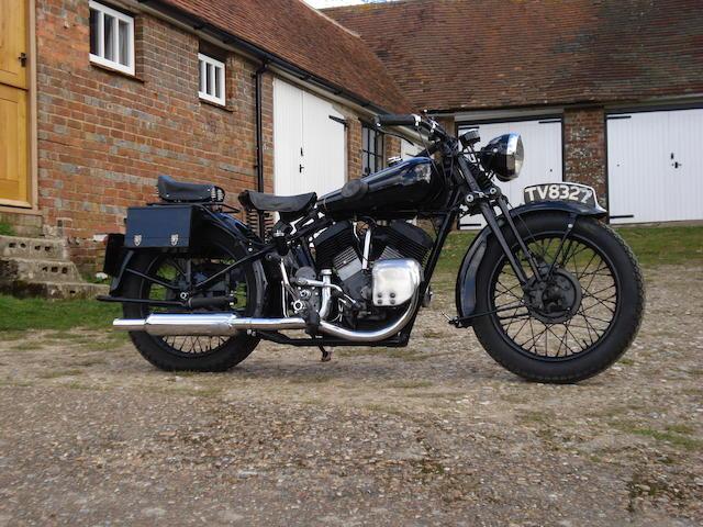 1933 Brough Superior 1,096cc 11-50hp Frame no. 8/1232 Engine no. LDZ 38032 SE
