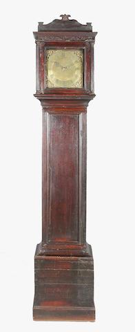 18th century oak longcase clock
