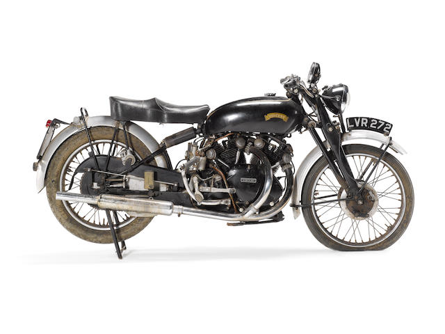 One family ownership for 46 years 1951 Vincent 998cc Series C Black Shadow Frame no. RC8064B Engine