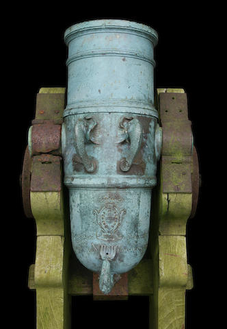 A Fine And Unusual Portuguese Bronze Mortar
